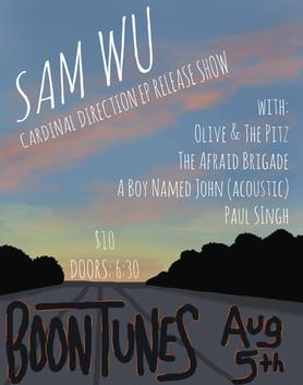 Sam Wu Album Release Show at Boontunes!