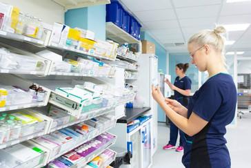 modular pharmacy shelving inov8 medical