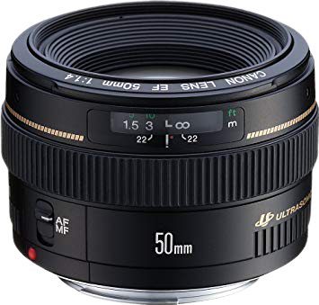 Canon 50mm F/1.4 EF Lens