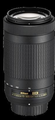 Nikon 70-300mm F/4.5-5.6G AF-P Lens