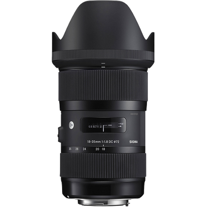 Sigma 18-35mm F/1.8 Art Lens for Canon