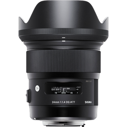 Sigma 24mm F/1.4 Art Lens for Canon