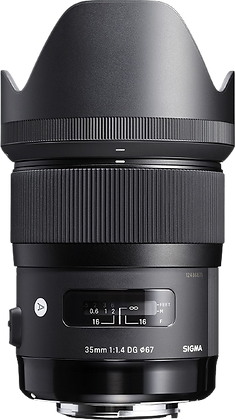 Sigma 35mm F/1.4 Art Lens for Canon