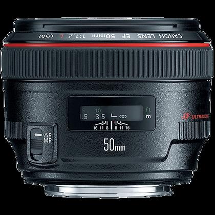 Canon 50mm F/1.2 EF Lens