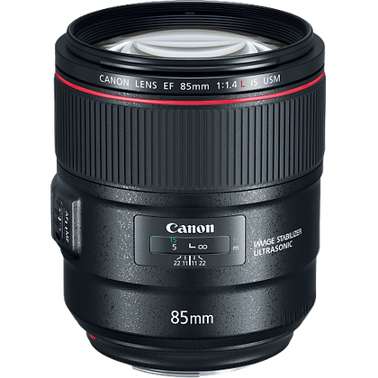 Canon 85mm F/1.4 EF Lens