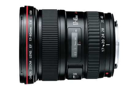 Canon 17-40mm F/4 EF Lens