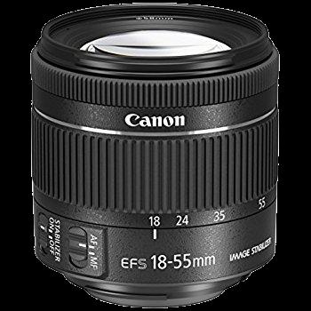 Canon 18-55mm F/3.5-5.6 EF-S STM Lens