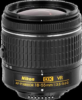 Nikon 18-55mm F/3.5-5.6G AF-P Lens
