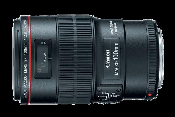 Canon 100mm F/2.8 Macro EF Lens