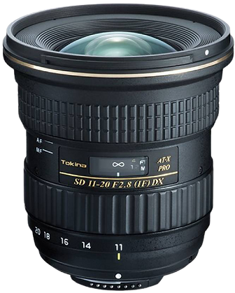 Tokina 11-20mm F/2.8 Lens for Canon EF