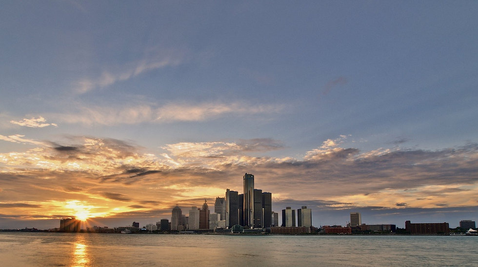 Detroit sunset- cropped, jumpstory 20200