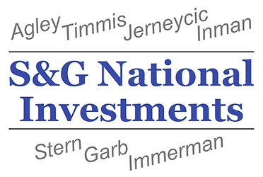 S&G National Investments logo, created a