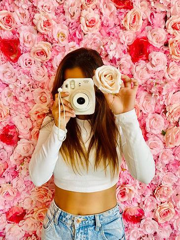 polaroid fleur salon de thé onlges annecy