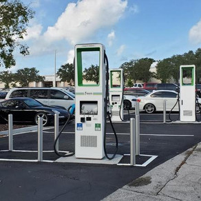 Identifying New Locations For Electric Vehicle Charging Stations in Baltimore