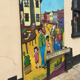 Magdalen Street Party Mural