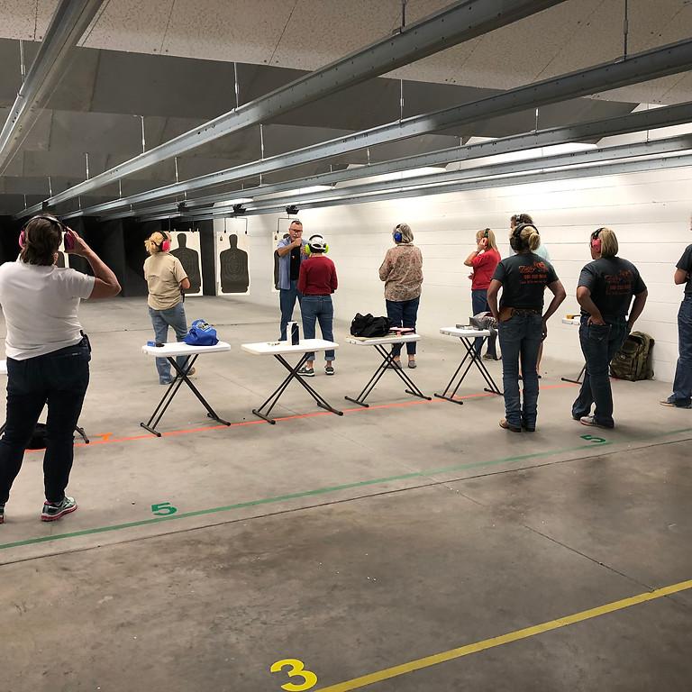 Ladies Defensive Pistol Class - October 9 & 10