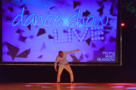 Performing at Dance Show Live