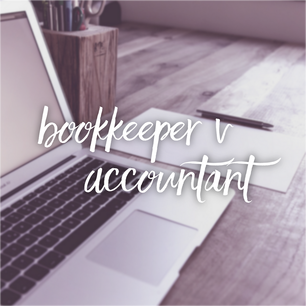 bookkeeper v accountant