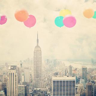 Balloons Over Manhattan