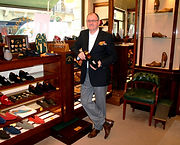Andrew Murphy, Jermyn Street, Foster and Son, Bespoke Shoes, Foster and Son Shoes, The Penny Yard