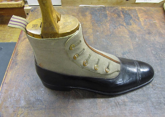 Foster & Son, Button Boot, Bespoke Shoes