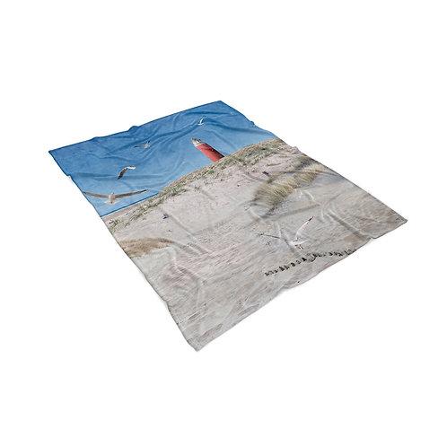 Fleece plaid Texelse Vuurtoren