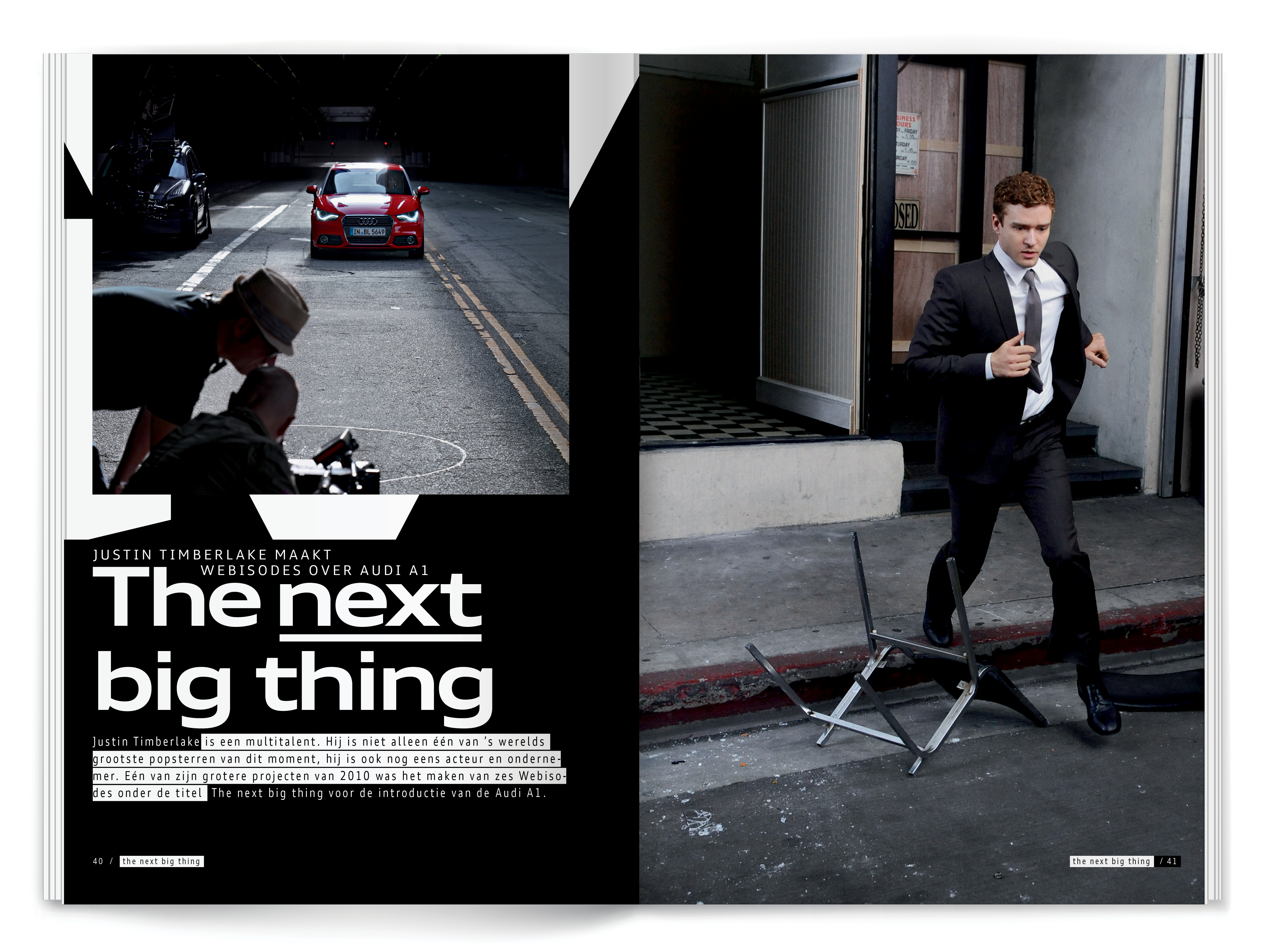 AUDI The next big thing 5/12