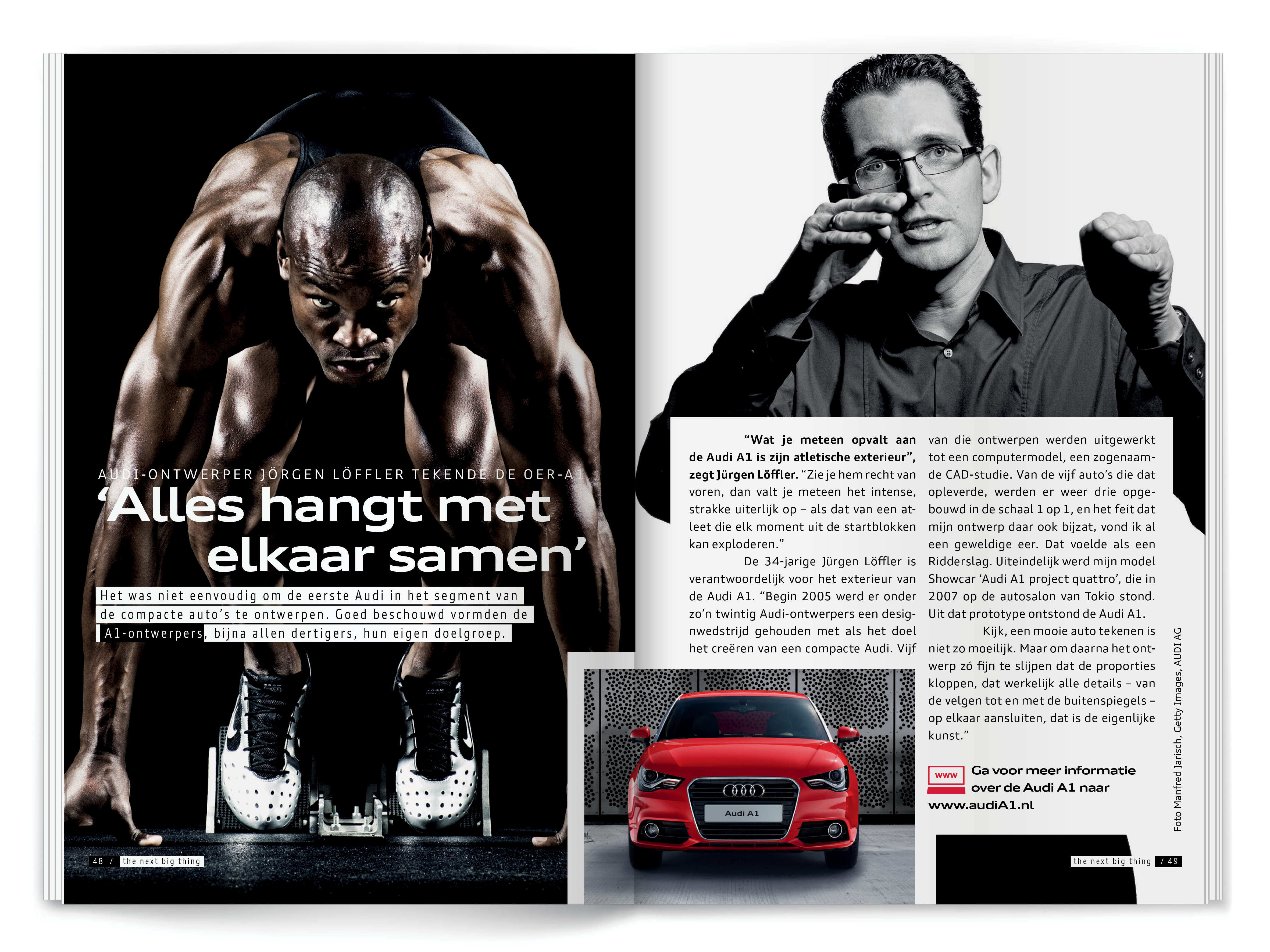 AUDI The next big thing 6/12