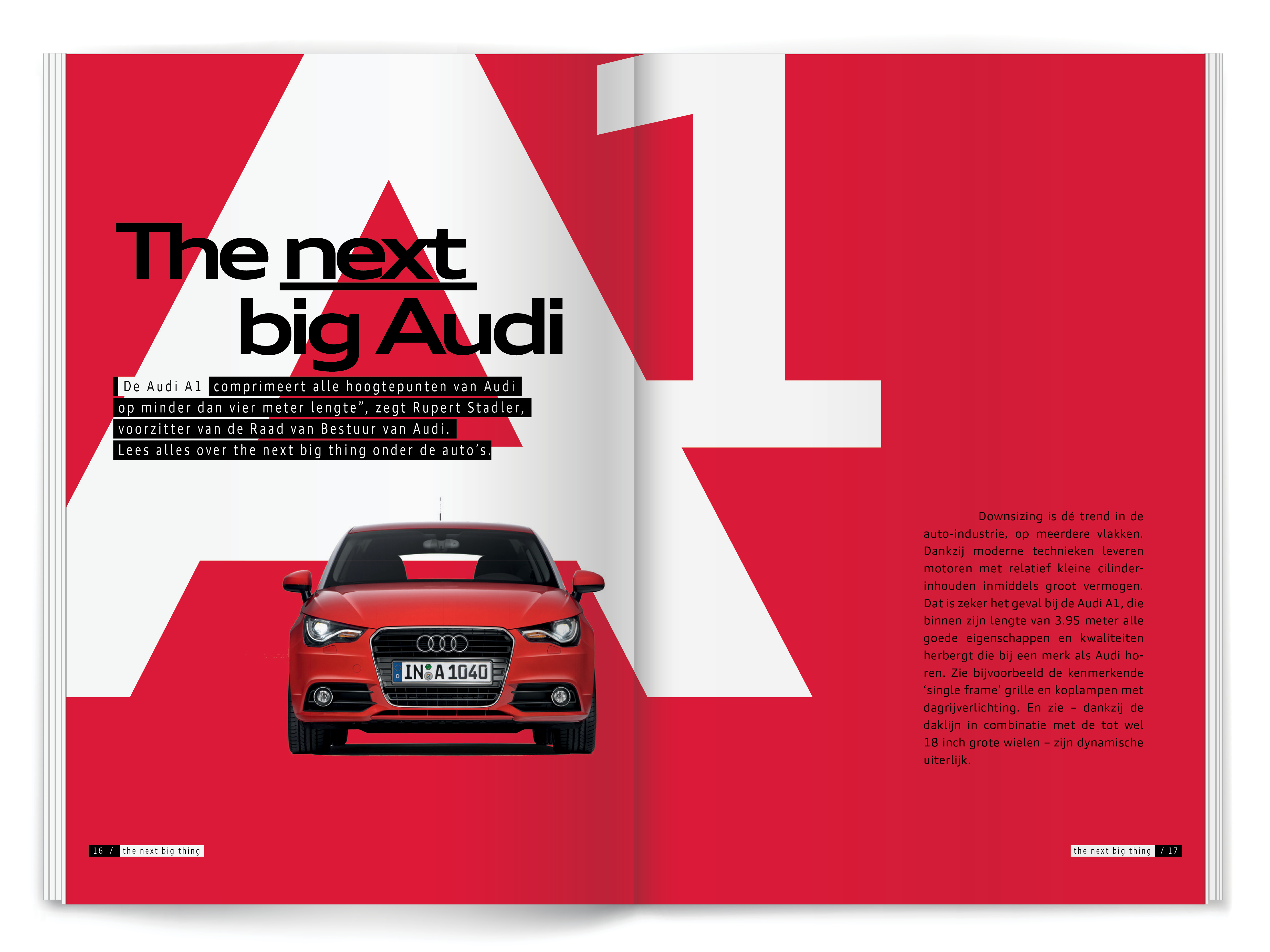 AUDI The next big thing 2/12
