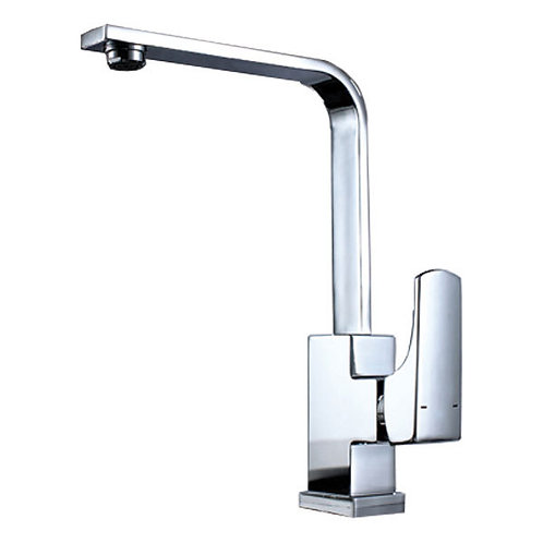 Square Design Kitchen Mixer Tap