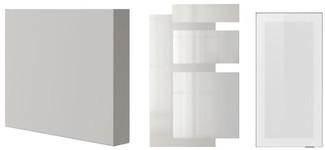 RINGHULT high-gloss light grey