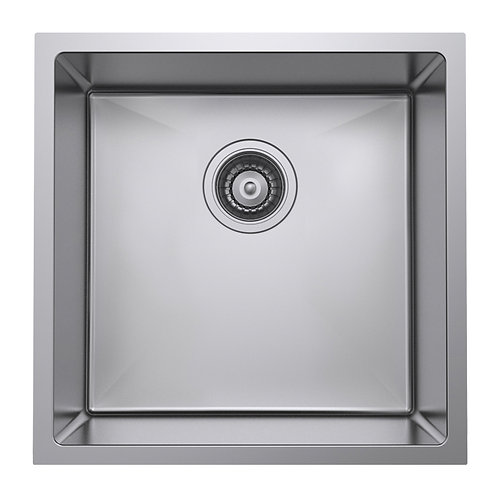 Single Bowl Undermount Kitchen Sink - 450mm