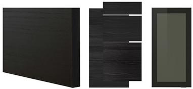 TINGSRYD wood-effect black