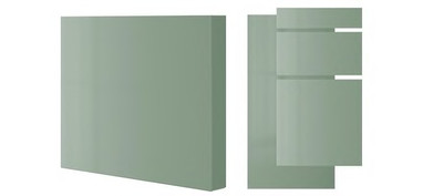 KALLARP high-gloss light green