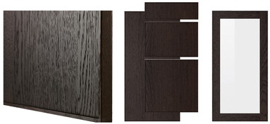 EKESTAD wood effect brown