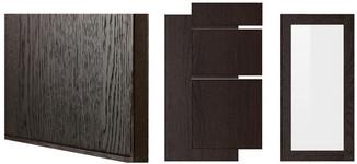 EKESTAD wood effect brown