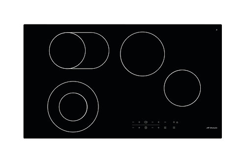 900mm Induction Cooktop with Triple Flexi-Zone Burners and Touch Controls