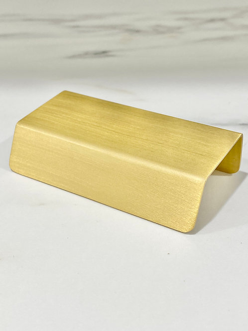 Square Pull Handles Brass