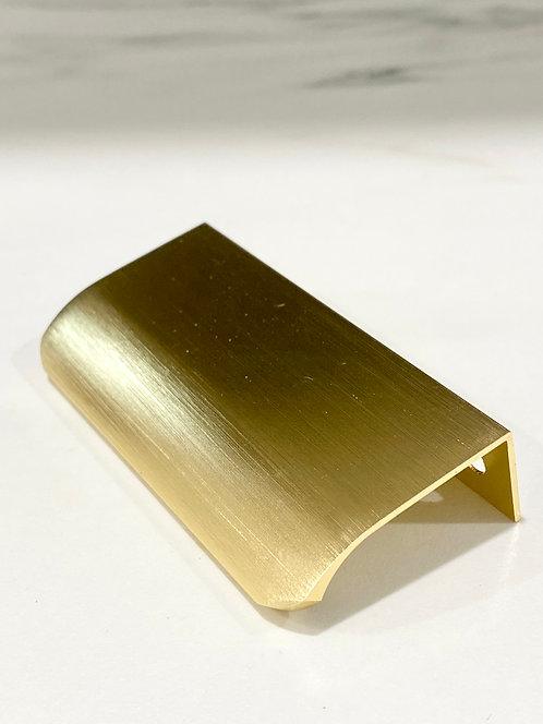 Lip Pull Handles Brass