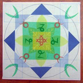 Taurus & Capricorn Mandala