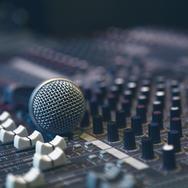 Mikrofon på Sound Board