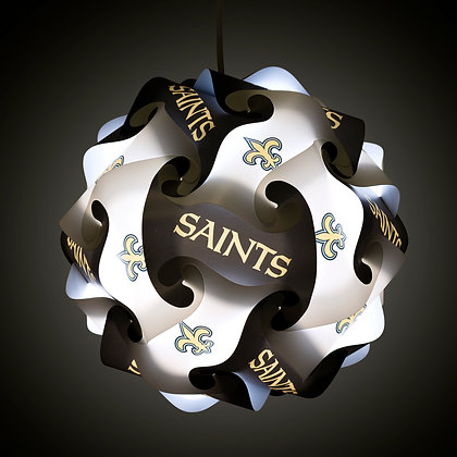 Saints NFL Lamp