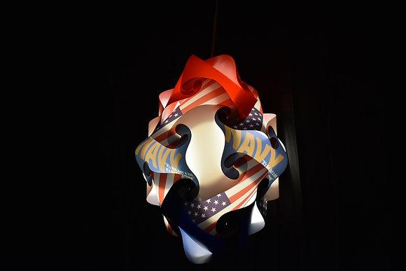 Diamond Navy Lamp