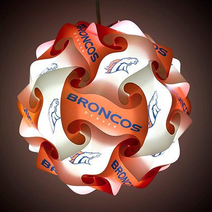 Broncos NFL Lamp