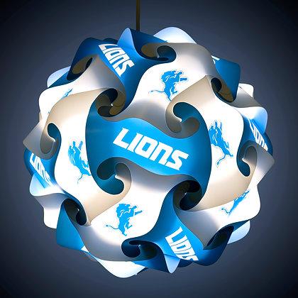 Lions NFL Lamp