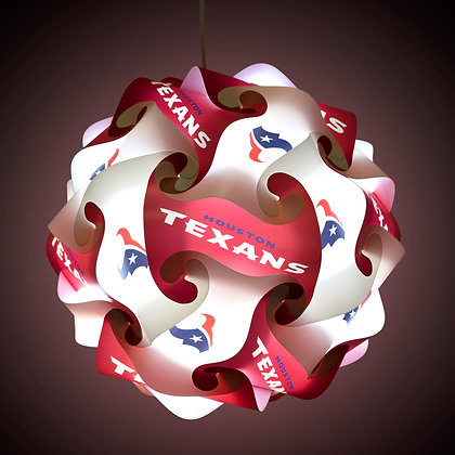 Texans NFL Lamp