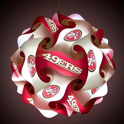 49ers NFL Lamp