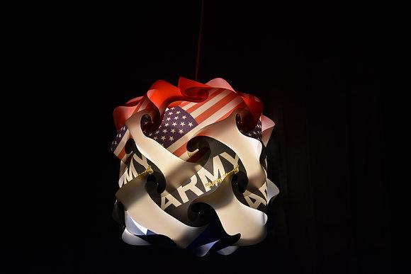 Marshmallow Army Lamp