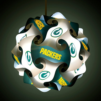 Packers NFL Lamp