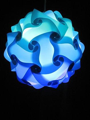 Ocean (Dark Blue, Med Blue & Teal) Sphere